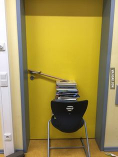 An ordinary day in a German school