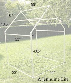 Childrens Playhouse Plans 439241769907095465 - PVC Playhouse & Sunshade: PVC Frame by Jennifer on July 2013 in DIY, PVC Playhouse, Tutorial Today I have the first installment of the … Source by CrapuchePilou Pvc Playhouse, Playhouse Outdoor, Outdoor Play, Playhouse Plans, Childrens Playhouse, Pvc Fort, Pvc Pipe Projects, Kids Tents, Creation Deco