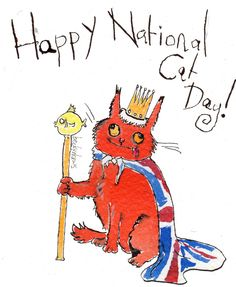 It's National Cat day today!