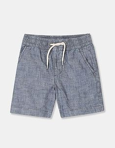 Buy Gap Toddlers Clothing Online At Offical Store - Gap Tulip Sleeve, Work Shorts, Star Wars Baby, Blue Sparkles, Boy Blue, Toddler Outfits, Toddler Boys, Poplin, Chambray