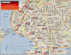 Fdny 5 Boroughs Map Fdny Division Maps Pinterest