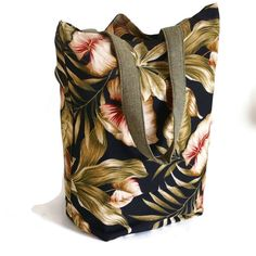 Large Grocery/Shopping Bag | Unlined and Fold Up Grocery/Shopping Bag - pinned by pin4etsy.com