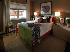 Eclectic Bedrooms from Linda Woodrum on HGTV