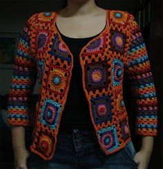 Ravelry: RayOLR's Colorful Cardi