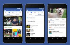 """Facebook introduces """"WATCH"""" - a new Platform for Shows  Facebook launches its original video effort  Introducing Watch a new platform for shows on Facebook  source-newsroom.fb.com  Watching video on Facebook has the incredible power to connect people spark conversation and foster community. On Facebook videos are discovered through friends and bring communities together. As more and more people enjoy this experience weve learned that people like the serendipity of discovering videos in News…"""