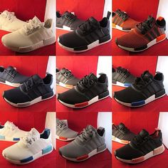 Adidas NMD_R1 Restock — We have re-stocked almost all colours of Adidas NMD_R1 in various sizes.