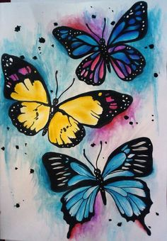 Diamond Painting Mosaic Butterfly Animal Diamond Embroidery Picture Of Rhinestones Full Square/Round Drill DIY Home Decor Butterfly Mosaic, Butterfly Artwork, Butterfly Drawing, Butterfly Pictures, Butterfly Painting, Butterfly Watercolor, Butterfly Wallpaper, Watercolor Art, Butterfly Colors
