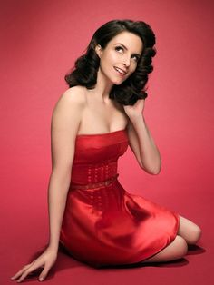 Tina Fey is a very sexy women in love first time i saw her.