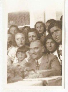 Ataturk and Students