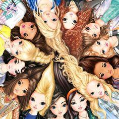 Likes, 34 Comments - TOPModel by Depesche ( - Best Friend Drawings, Girly Drawings, Disney Drawings, Top Model Biz, Bff Pictures, Best Friend Pictures, Images Kawaii, Friends Sketch, Model Website