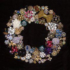Vintage Jewelry Christmas Tree On Pinterest Costume