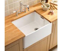 Traditional single Belfast sinks, Single ceramic sinks, Ceramic sinks, Kitchen fittings, Holloways of Ludlow Ceramic Kitchen Sinks, Kitchen Sink Taps, Belfast Sink, Small Basin, Butler Sink, Old Sink, Deep Sink, Fireclay Sink, Double Bowl Sink