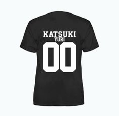 Katsuki Yuri Yuri!! On Ice Jersey Style Inspired Anime T-Shirt by aniMEOWapparel on Etsy https://www.etsy.com/au/listing/479393042/katsuki-yuri-yuri-on-ice-jersey-style