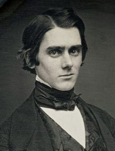 DAGUERREOTYPE PORTRAIT OF YOUNG HANDSOME MAN