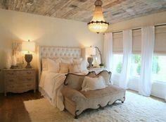 barn board ceiling