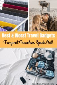 Best Accessories for Travel in 2019 (and the Worst!) All of the best (and some of the worst!) travel gadgets, accessories and tech for men, women and kids! Super useful for international flights, business trips and road trips! Best Travel Gadgets, Travel Hacks, Travel Packing, Packing Lists, Europe Packing, Travel Set, Beach Travel, Travel Advice, Travel Essentials