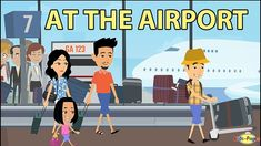 Learn words and phrases you can use at the airport and while traveling by plane in this video through conversation. Kids English, Learn English, English Class, Us Citizenship Test, Shape Songs, Toronto Airport, Why Book, Conversation Topics, Teacher Stickers
