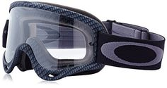 Oakley O-Frame Graphic Frame MX Goggles (True Carbon Fiber/Clear Lens, One Size) -- Learn more by visiting the image link.