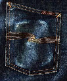 Nudie Jeans, Denim Jeans Men, Jeans Pants, Blue Jeans, Us Army Jacket, Estilo Denim, Amazing Watches, Denim Branding, Raw Denim