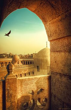 Ibn Tulun Mosque, Cairo, Egypt Travel and Photography from around the world. Places Around The World, Oh The Places You'll Go, Travel Around The World, Places To Travel, Places To Visit, Around The Worlds, Beautiful Mosques, Beautiful Places, Beautiful Pictures