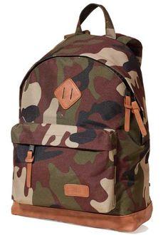 Камуфляжный рюкзак, RAINBOW, коричневый/оливковый