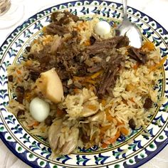 Kulinarisches aus Usbekistan - ITCHY FEET Grains, Rice, Amazing, Food, Fresh Fruit, Meat, Homemade, Simple, Essen