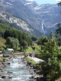 Gavarnie, French Pyrenees Mts.