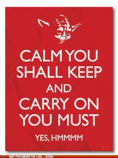Oh, Yoda! This is for Jeff and Tiffany and all my nerd friends!!