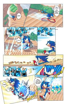 the point here is to show you that Sonic is slower now that he is young again.. but he still can do spin dash... that's all... i love the derp badnik XD ESPAÑOL: Sonic: esto apesta! aun no pue...