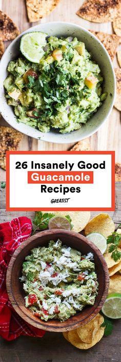 It's hard to imagine making guacamole even more delicious. #Greatist http://greatist.com/health/creative-healthy-guacamole-recipes