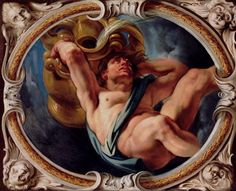 Aquarius, from the Signs of the Zodiac by Jacob Jordaens