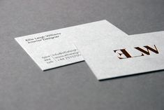 Ellie Leigh Williams Letterpress Business Cards, Letterpress Printing, Cards Against Humanity, Embossed Business Cards, Letterpresses, Letterpress