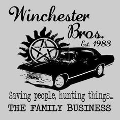 Supernatural Winchester Bros.