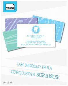 """Conheça o cartão de visita """"Odonto"""" da Vosso: www.vosso.co/"""