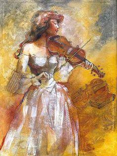 MÚSICA ♪♫♥Violín ♪♫♥.....La música es el corazón de la vida. Por ella habla el amor; sin ella no hay bien posible y con ella todo es hermoso. Franz Liszt
