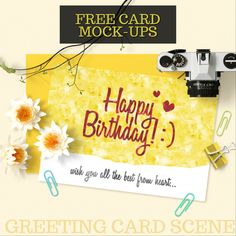 GREETING CARD SCENE