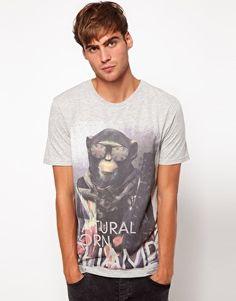 Enlarge River Island Chimp Champ T-Shirt