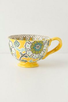 Ayaka Mug  #anthropologie Why am I not drinking coffee from this beautiful cup every morning?