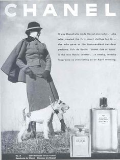 If you want an ad to give the impression of class and taste.....