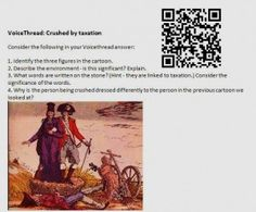 QR Codes in Social Studies. I will def be using this some day!