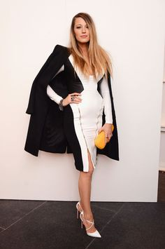 Blake Lively at the Gabriela Cadena fashion show