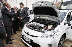 assinatura do decreto de regulamentação da lei do carro elétrico