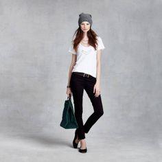 Cap Sleeve T-Shirt on #zady. #style #fashion #smalltrades