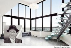 Frank Sinatra's former NYC penthouse hit the market. See more photos http://realestate.aol.com/blog/2012/08/08/frank-sinatras-nyc-penthouse-house-of-the-day/
