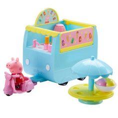 Pipsa Possu jäätelöauto leikkisetti Pig Ice Cream, Ice Cream Van, 7th Birthday Party Ideas, Unicorn Birthday Parties, My Little Pony Dolls, Top Toys, Blouse Vintage, Peppa Pig, Toy Chest