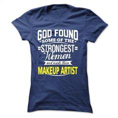 I'm a Makeup Artist T Shirts, Hoodies, Sweatshirts - #hoodie #green hoodie. PURCHASE NOW => https://www.sunfrog.com/LifeStyle/Im-a-Makeup-Artist.html?id=60505