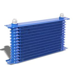 9 Row 10AN Silver Aluminum Oil Cooler for Turbo//Engine//Transmission//Differntral