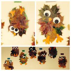 Vær kreativ i efterårsferien Diy Projects For Teens, Diy For Teens, Diy Crafts For Kids, Halloween Crafts For Toddlers, Toddler Crafts, Autumn Crafts, Nature Crafts, Ladybug Crafts, Leaf Crafts