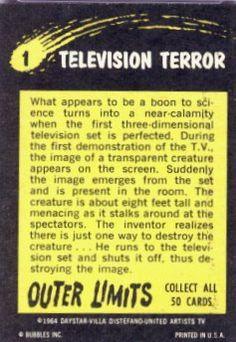 1 Television Terror