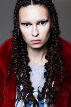 Hair Editorial for Antonym Magazine  By Alexandre Eustache Directed & Styled by Tatiana Terrine